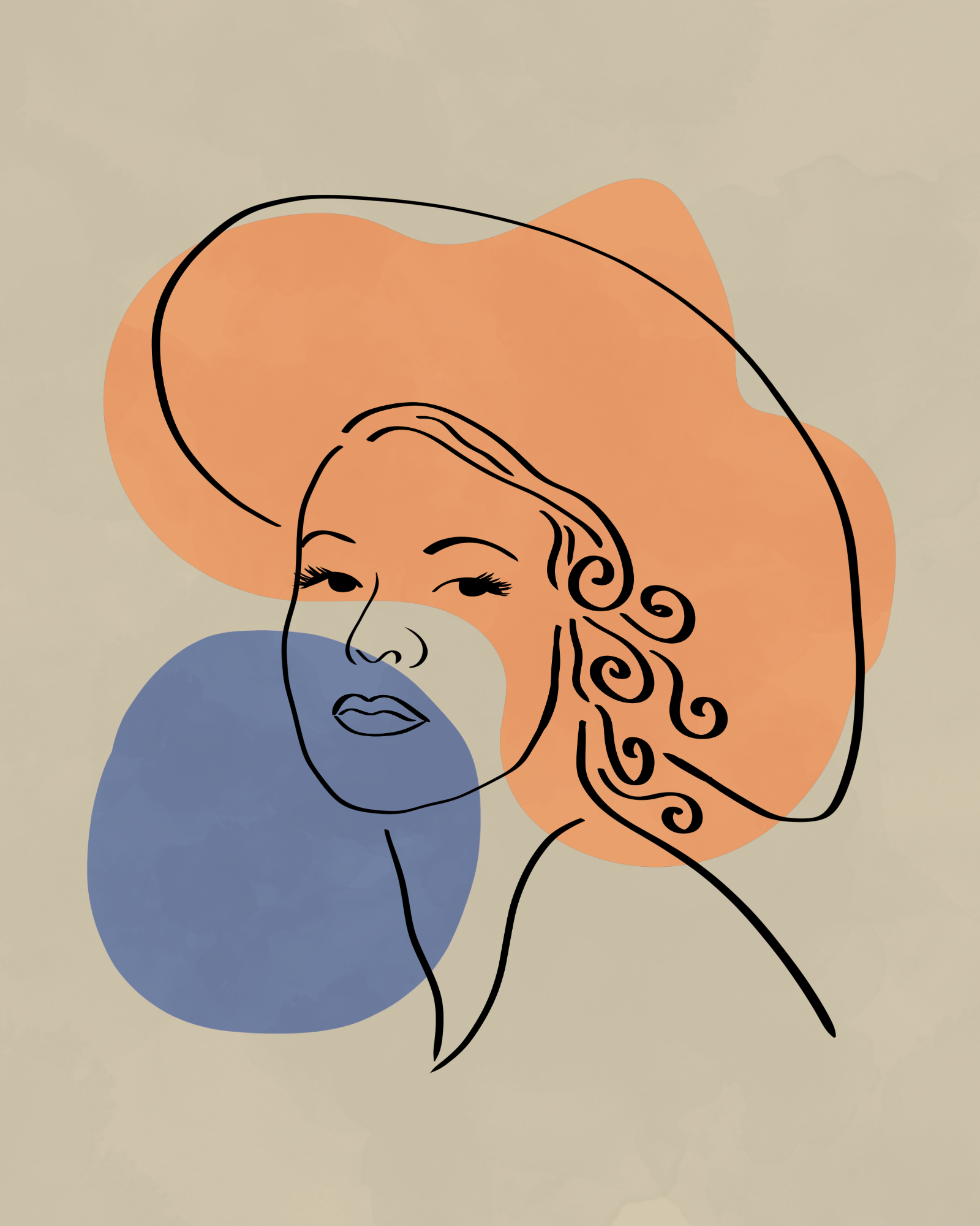 Lady with hat 13