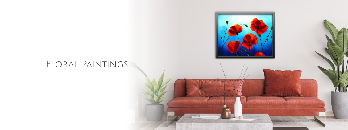 Floral Paintings in cheerful colors