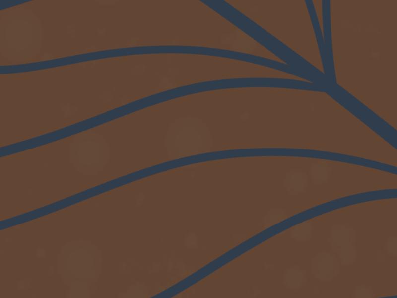 Minimalist landscape with a palm leaf 3