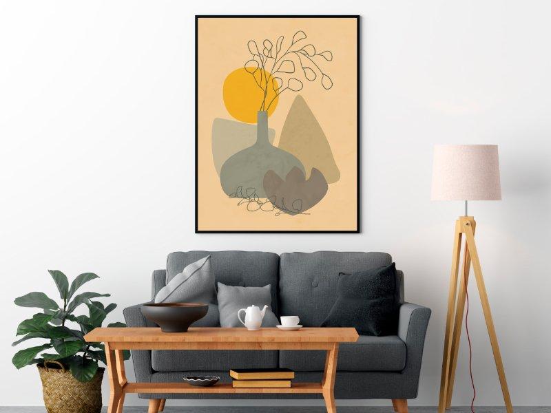 Minimalist still life with a vase 2