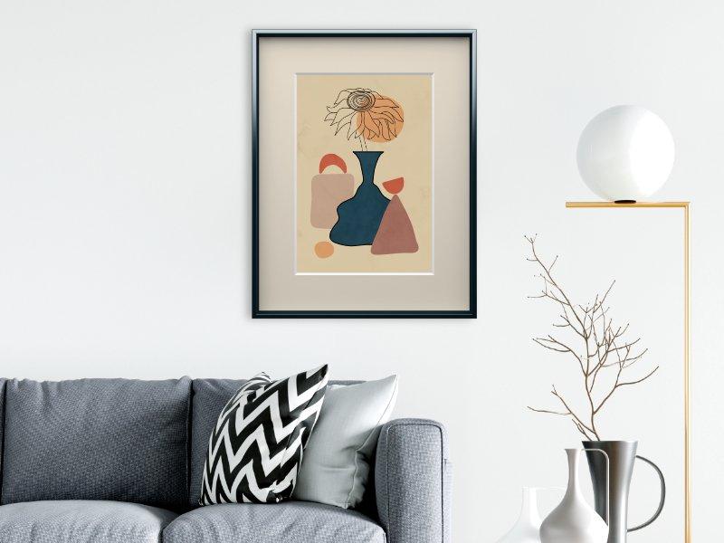 Minimalist still life with a vase 3
